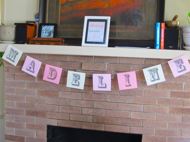 iBaby Shower Banner