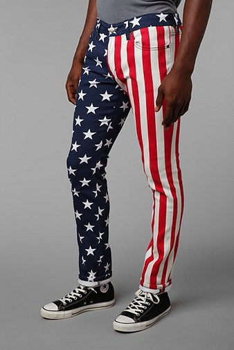 American Flag jeans from Urban Outfitters